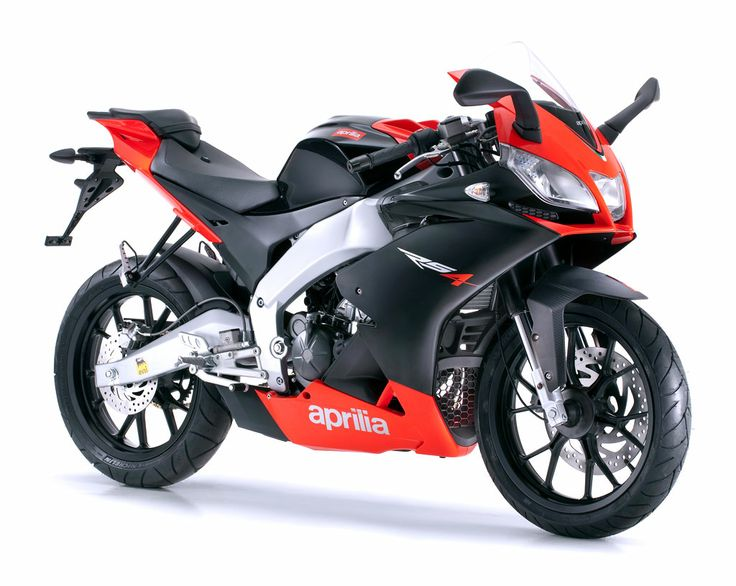 Aprilia has present new RS model with 125 ccm with 28 horse power. This motorcycle are very nice looking and have very high rating in most studies and evaluations. This new model has availavle in white and black color with red and blue ornaments desi