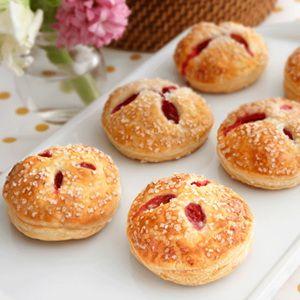 Pepperidge Farm® Puff Pastry: Red Raspberry & White Chocolate Cream Hand Pies