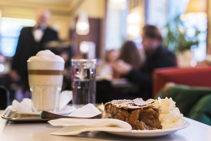 Vienna, Austria: the best Applestrudel in the city. Seriously: Cafe Korb, 1st District