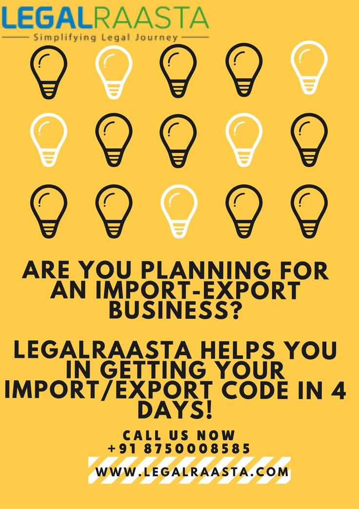 Are you planning for an import-export business?