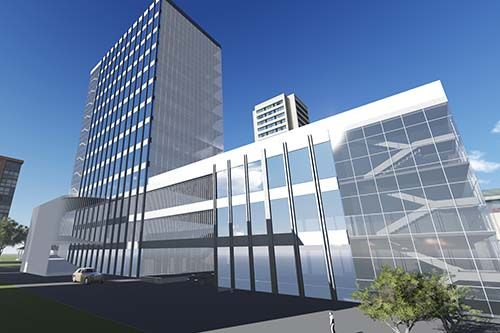 NMA-Proposed Commercial Building at Shinrai Property