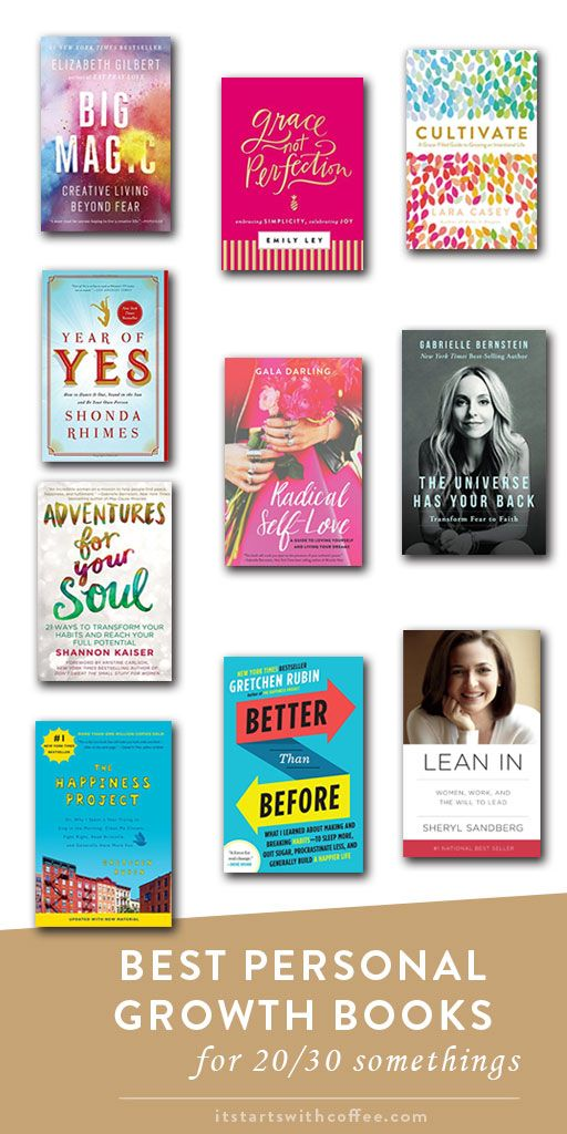 Best Personal Growth Books For 20/30 Somethings - It Starts With Coffee - A Lifestyle + Beauty Blog by Neely Moldovan