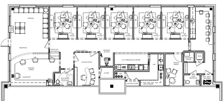 Pin by David Hashemi on My Dental Office Floor Plans