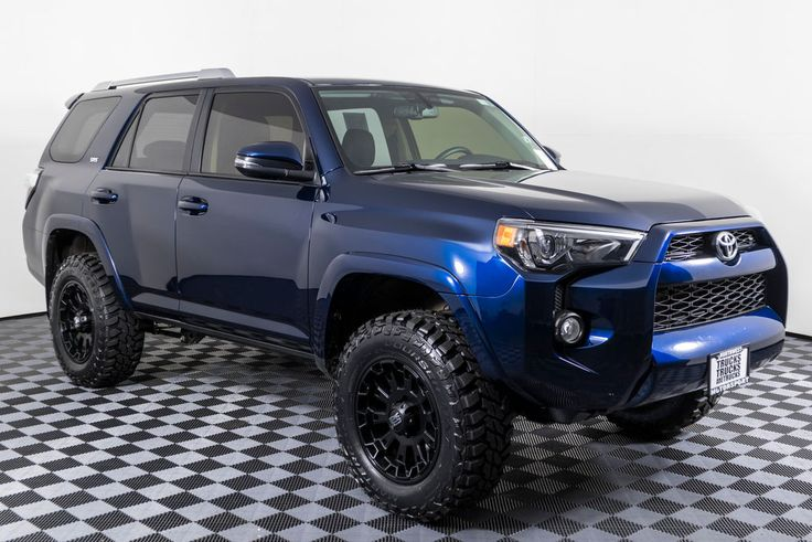 Used Lifted 2017 Toyota 4Runner SR5 Premium 4x4 SUV For
