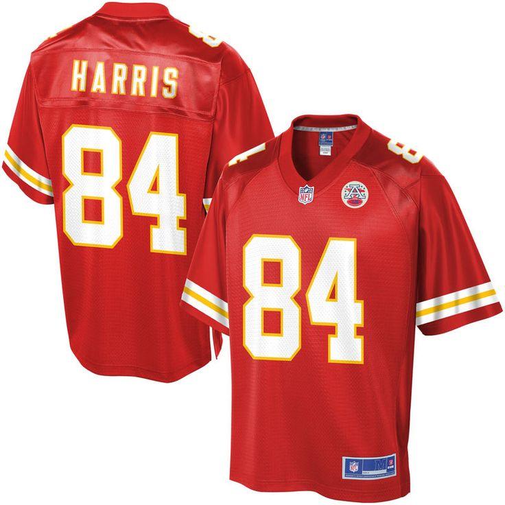 NFL Pro Line Mens Kansas City Chiefs Demetrius Harris Team Color Jersey