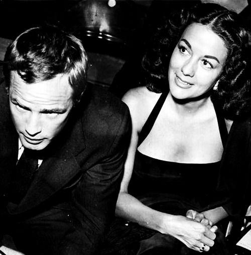 movita castaneda & marlon Brando-#2