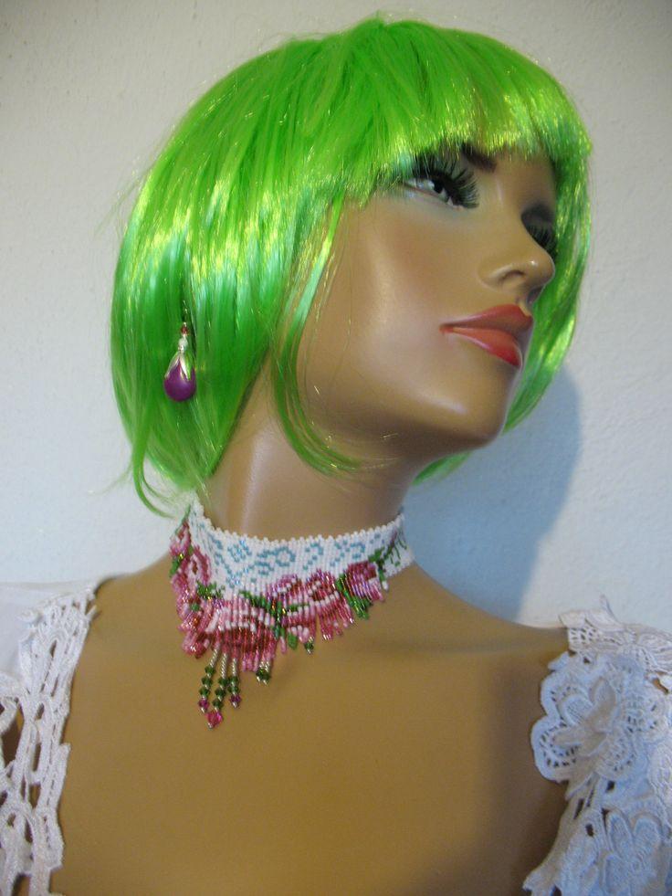 ...necklace,lena-style,unicat!