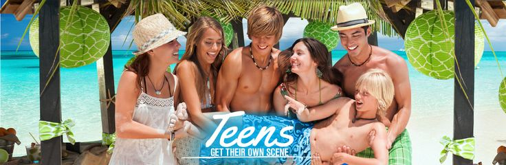 """TEENS… TOO COOL FOR VACATION? There are many resorts that have programs and activities that would appeal to teens, but since it is """"Sandal's Saturday"""" let's take a clo…"""