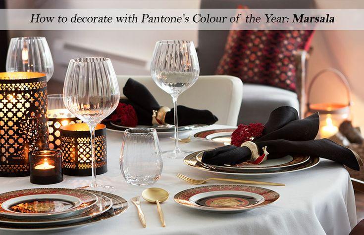 Pantone Colour of the Year 2015 - Marsala