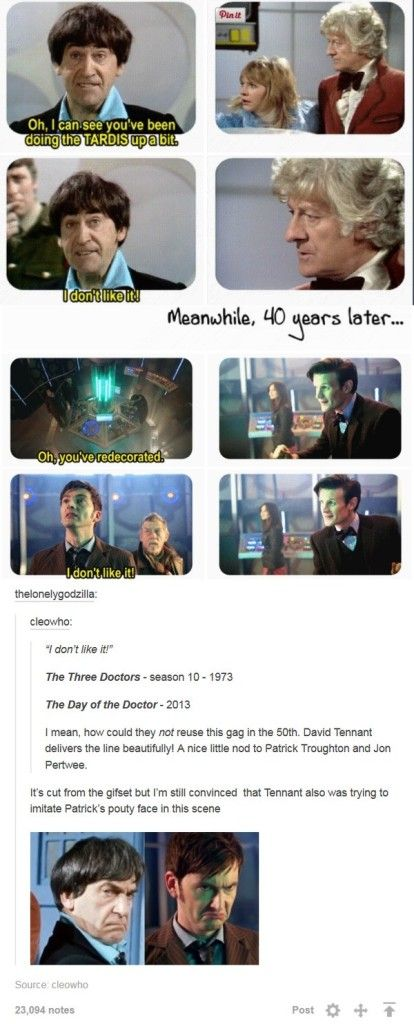 I NEVER NOTICED THAT THEY MAKE THE SAME FACE HOLY TARDIS OF GALLIFREY