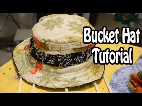 DIY: How to make a Bucket Hat   From Scratch #6 - https://www.youtube.com/watch?v=8B41hkMruO4