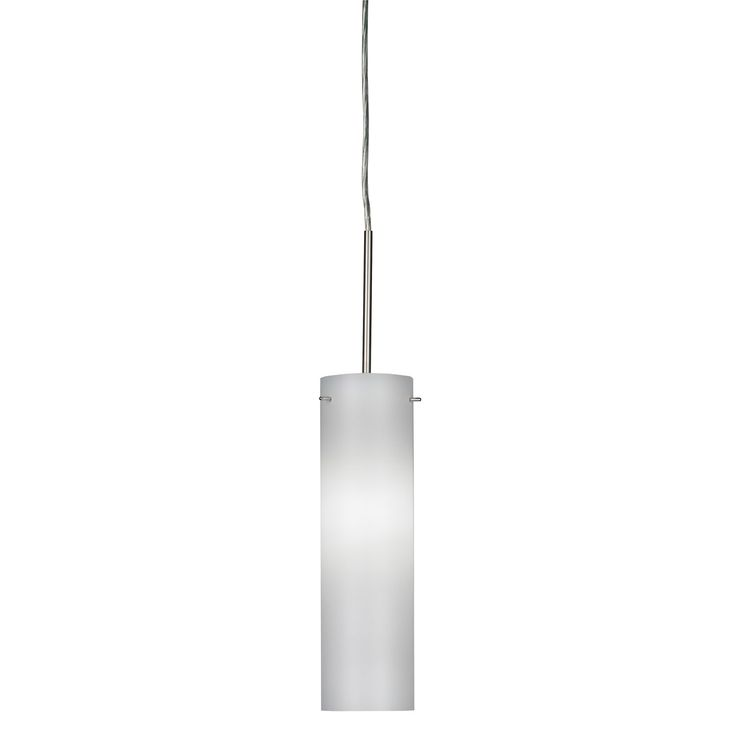 AFX Soho Satin Nickel LED Mini Pendant