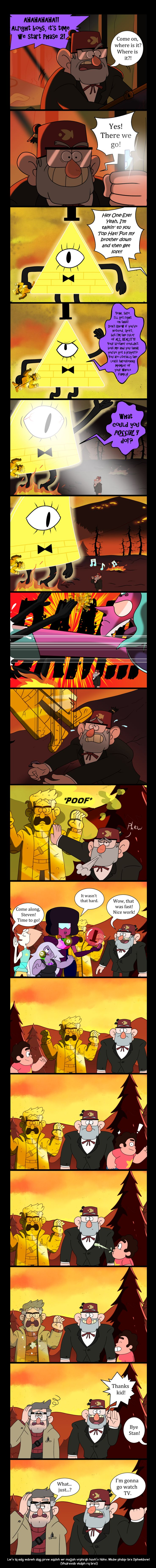But how did Stan have the whistle?! There's an amazing AU here waiting to be written, for sure...