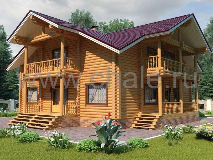 """Проект деревянного дома """"Идилия"""""""