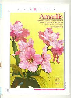 Alegria do Artesanato: Passo a passo da flor Amarílis em EVA.