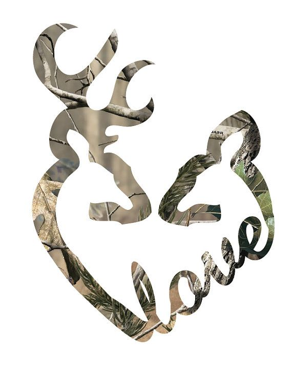 Camo Browning Logo Heart | www.imgkid.com - The Image Kid ...