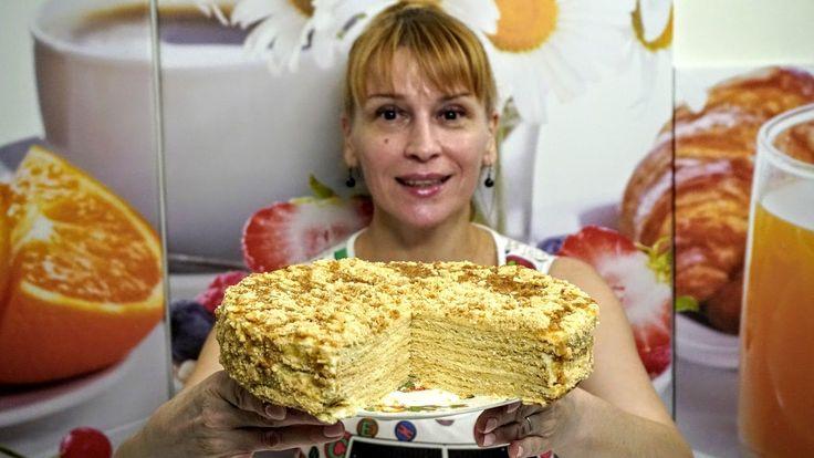 Медовик - шикарный рецепт торта