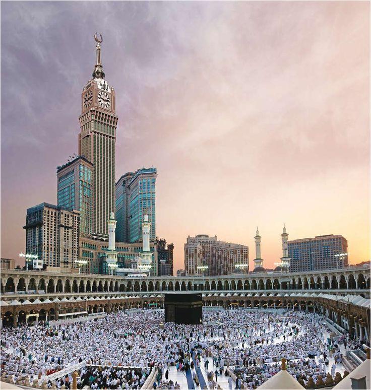 Makkah Clock Royal Tower. La Meca. Arabia Saudita. 601 metros, 95 pisos.