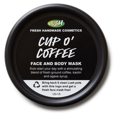 Cup O' Coffee face and body mask/scrub. Sounds like this smells divine!