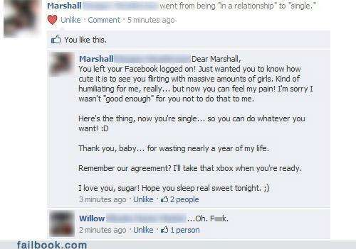 21 People Caught Cheating On Facebook
