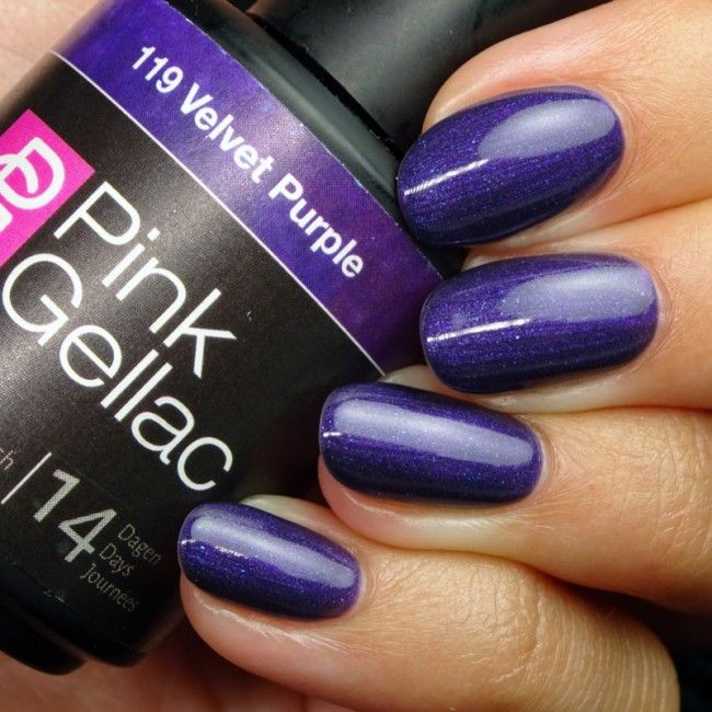34 best Pink Gellac Purple Gel Polish images on Pinterest | Nail ...
