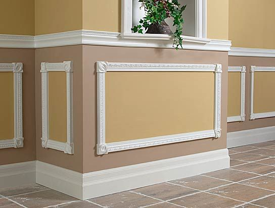 16 best Chair Rail And Wainscoting images on Pinterest | Moldings ...