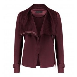 Layer up in style with our Angie Waterfall Jacket, perfect to add a little polish to any ensemble.