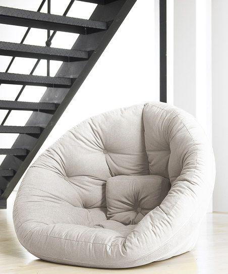 round futon... So cool