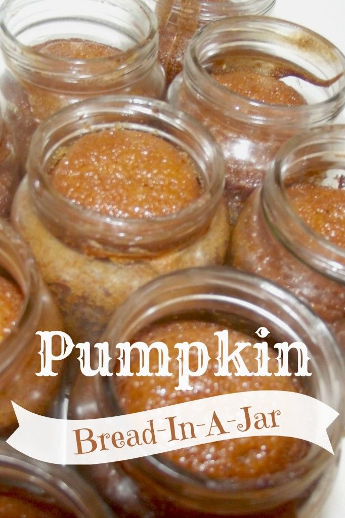 Pumpkin Bread-in-a-Jar...how about a small mason jar