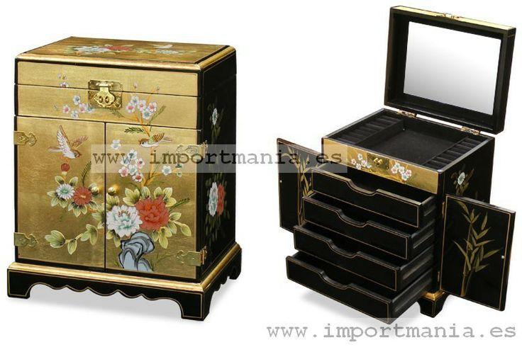 Baules orientales decorados muebles chinos muebles for Muebles orientales