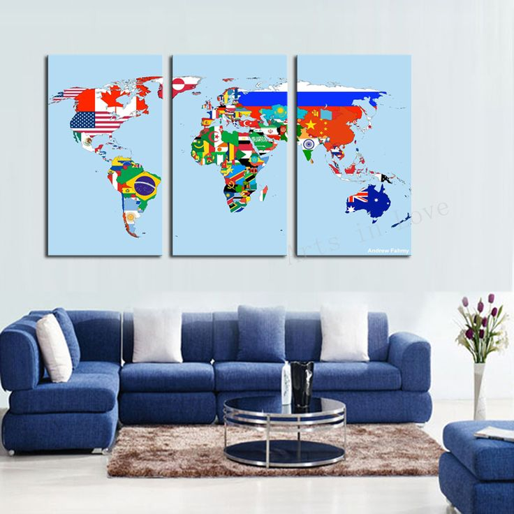Beautiful World Map https://walldecordeals.com/3-panel-modern-wall-art-home-decoration-frameless-print-painting-on-canvas-pictures-beautiful-world-map-for-living-room-dector/
