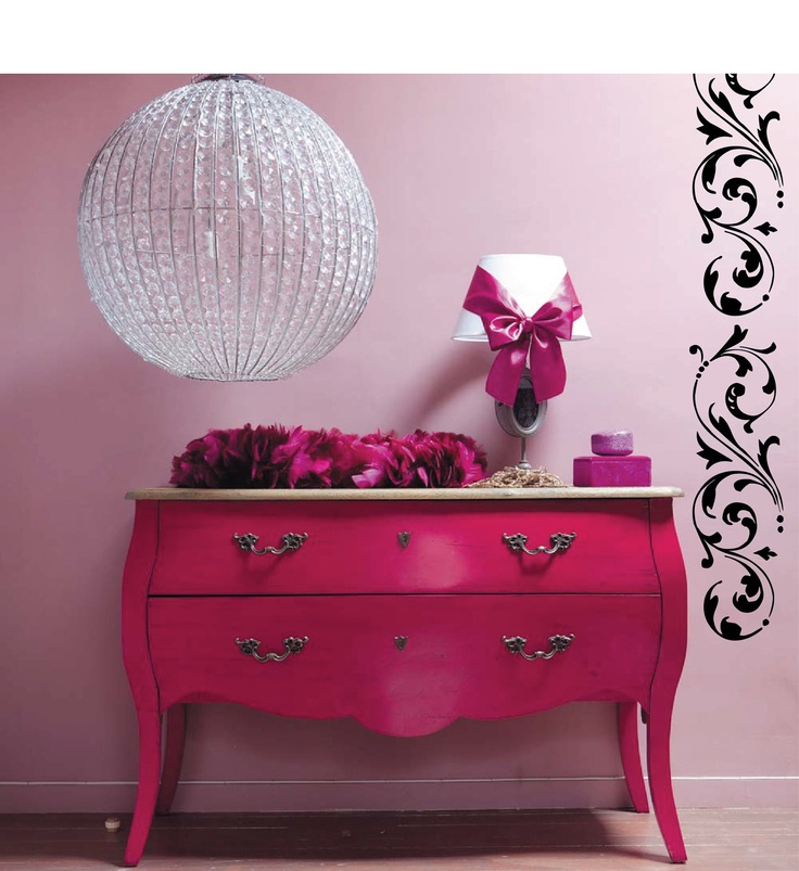 Hot Pink Furniture- maybe i can sneak this in without Richard seeing it...
