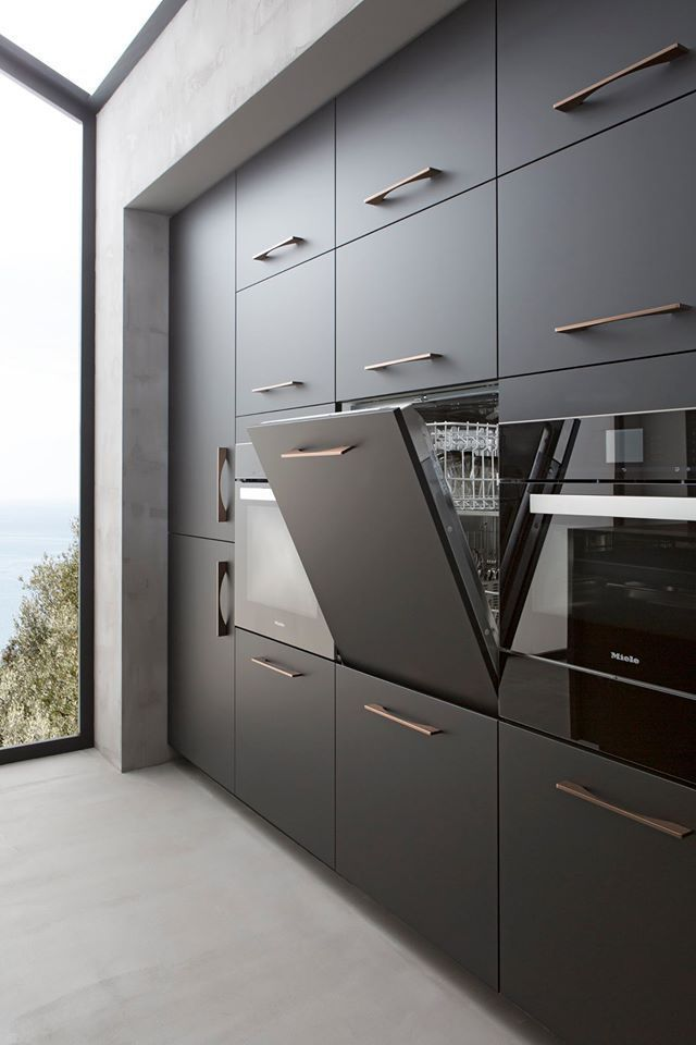 Kitchen Full Height Cupboards Built In Storage And Appliances