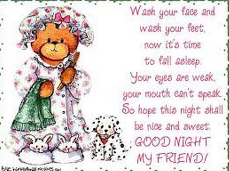 Good Night my friend