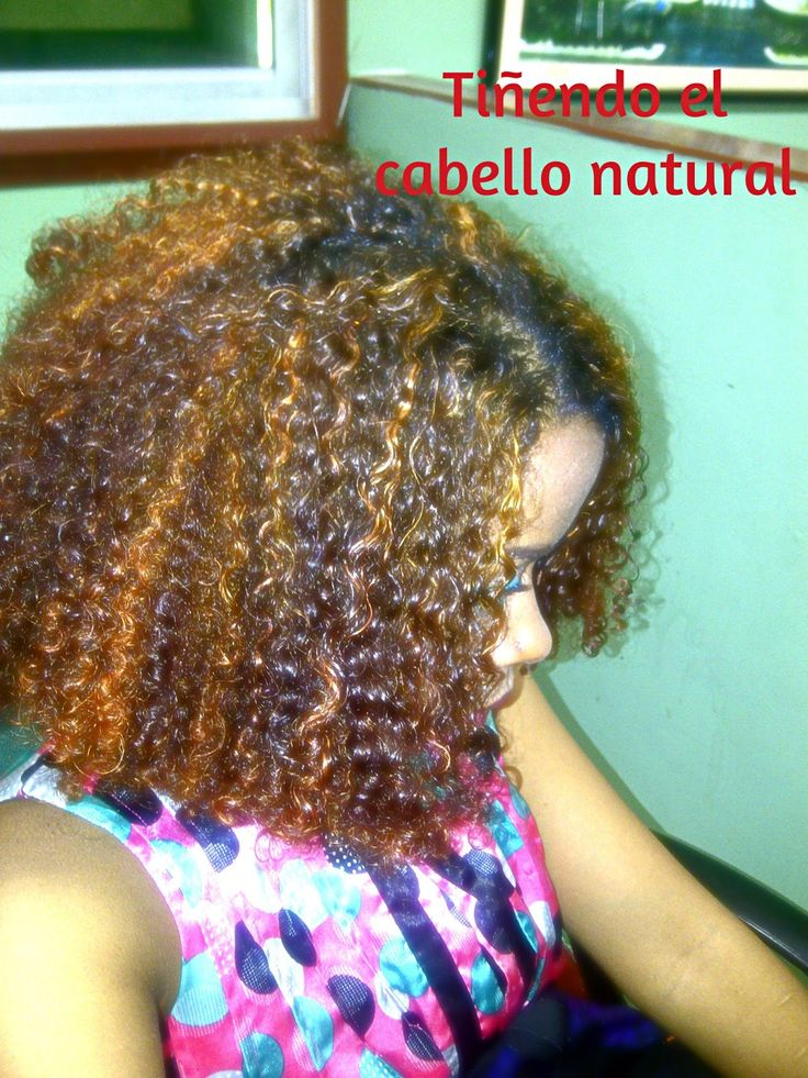 Afrosol: Cómo teñir el cabello natural? Mi experiencia