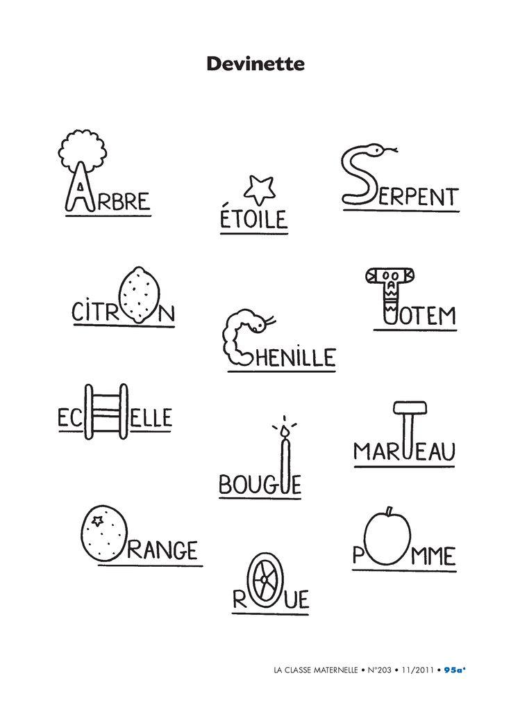 12 activités ludiques pour s'amuser avec les lettres de l'alphabet en GS et au CP.