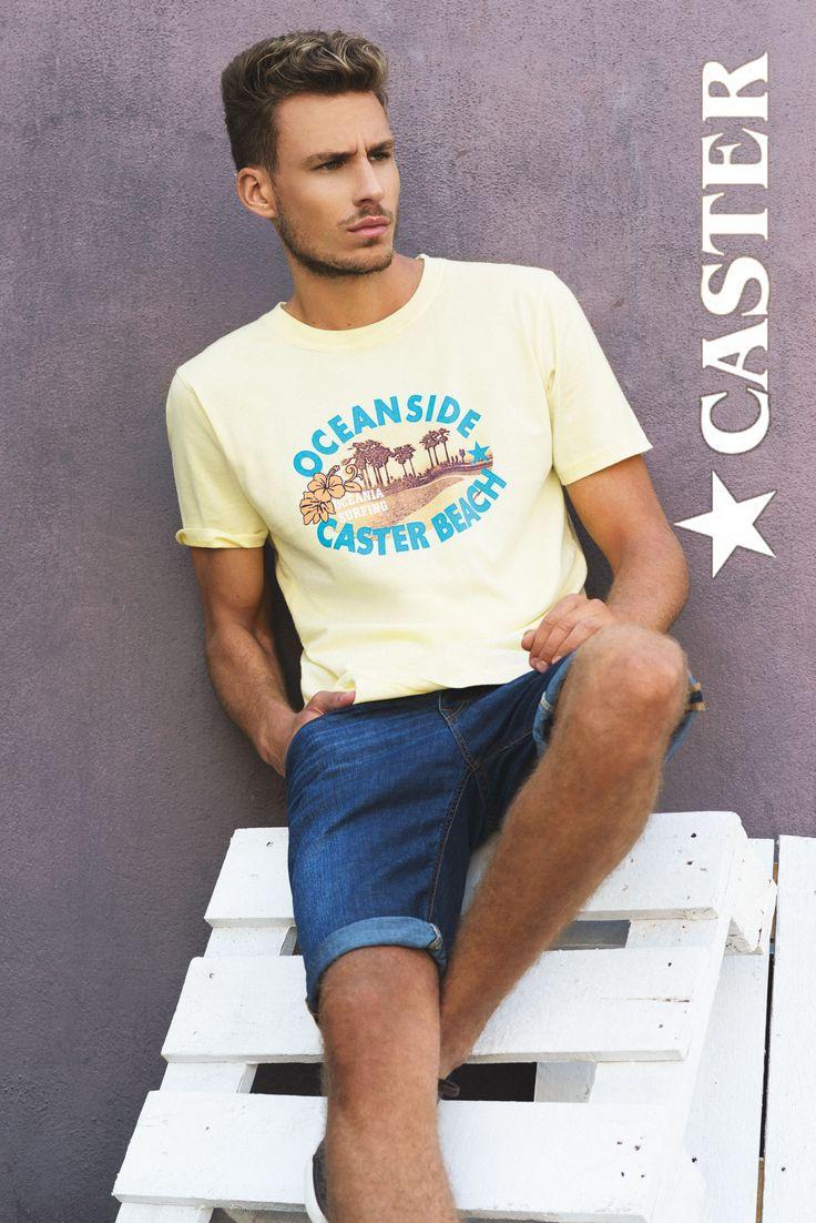 Outfit veraniego, juvenil y casual para imprimir a tu día a día la actitud y fuerza característica de nuestra estrella Caster.