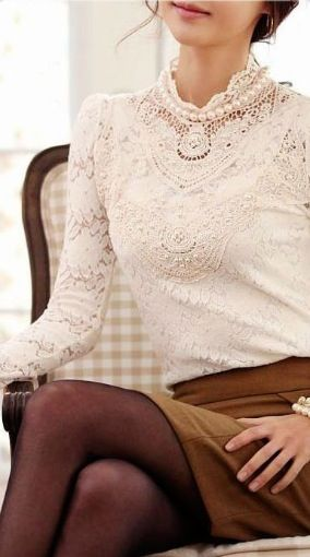 love this look, good fall or winter outfit
