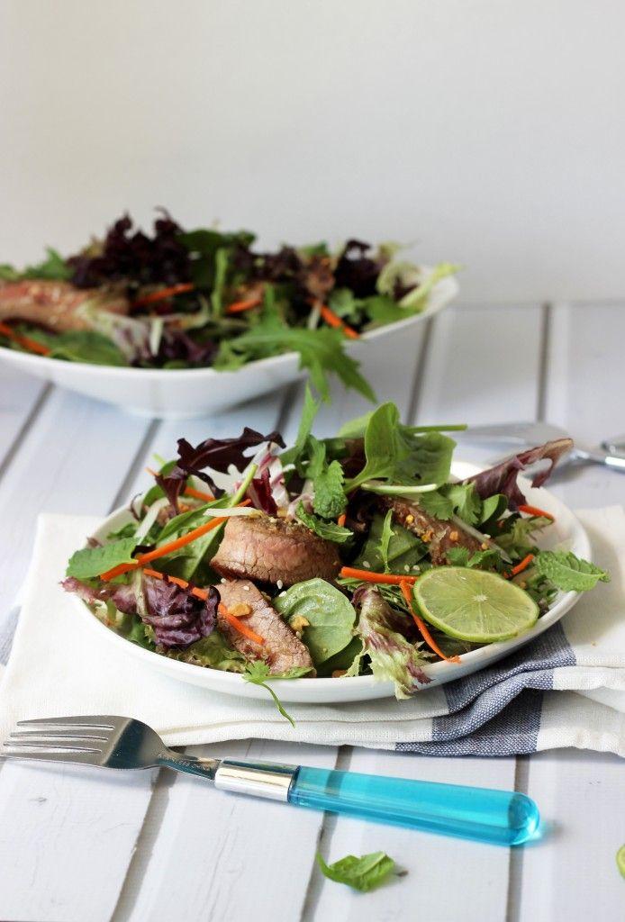 Luke nguyen recipes beef salad marinade