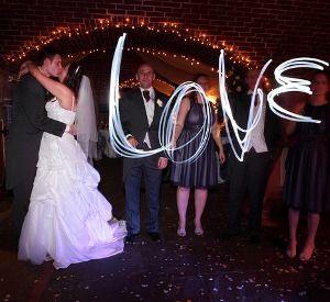 » Une animation Light painting pour votre mariage !