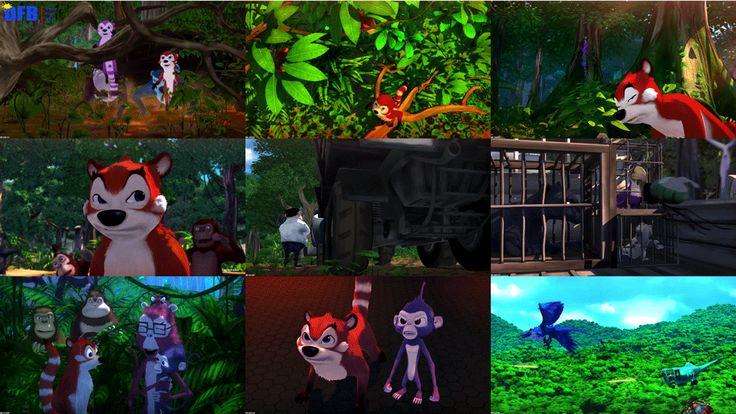Jungle Shuffle (2014) BluRay 720p 600MB + Subtitles | Dunia Film Baru