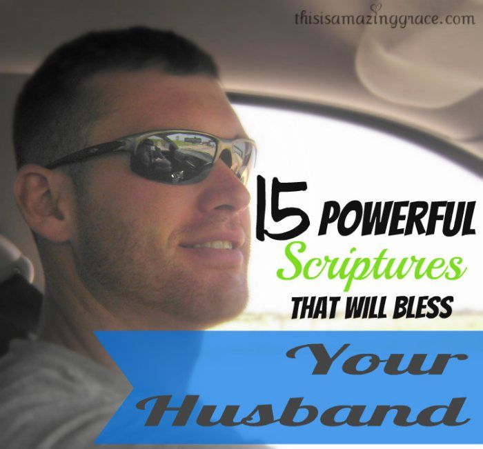 Praying for your husband is one of the best ways to serve God. This is a list of 15 short, sweet, and power packed prayers that will bless your husband every day.