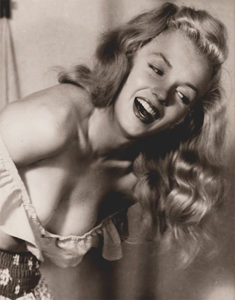Beautiful Norma Jeane  Photo by: Earl Moran  My favorite pictures of  Monroe are the ones from her very first photo shoot.