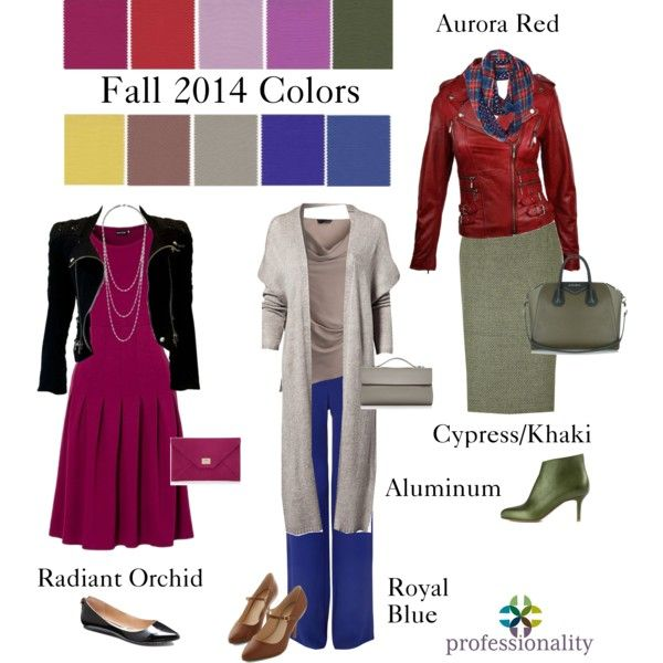 """Fall 2014 Colors at Work"" by professionality on Polyvore"