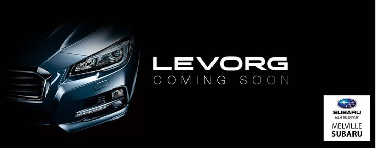 Following the Levorg's massive success in the Japanese domestic market, we're pleased to announce that it will be launched in Australia mid 2016.