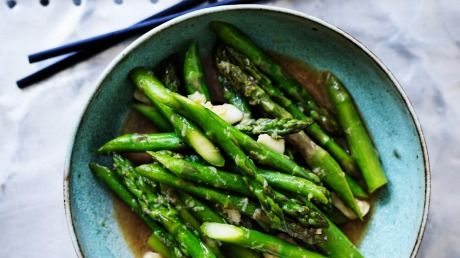 Kylie Kwong's Stir-Fried Asparagus with Garlic
