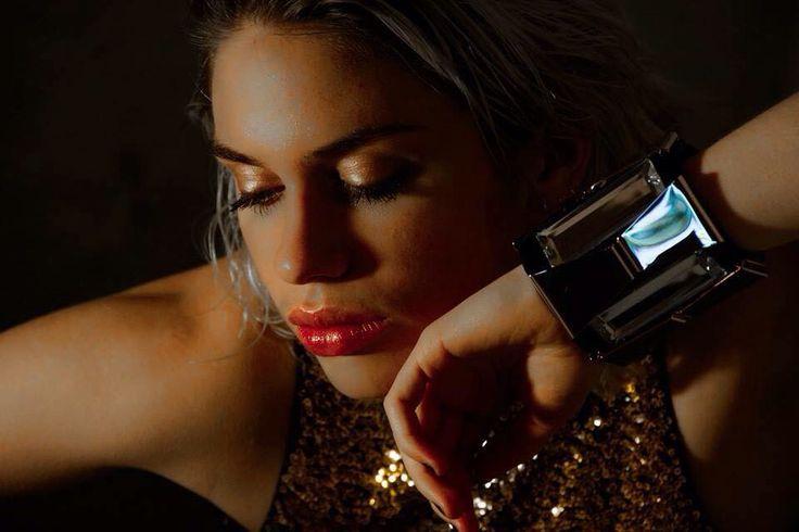 Bronze oogschaduw Rode lippen  #MakeUpArtistMelissa#