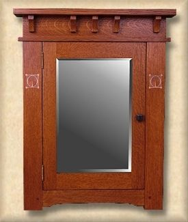 Mission, Arts and Crafts Craftsman Stickley custom medicine cabinets - Missionfurnishings.com, Doorbells, Medicine cabinets, mirrors, furniture