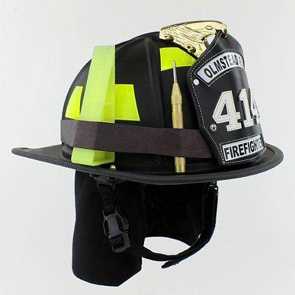 Rubber Helmet Band #TheFireStore