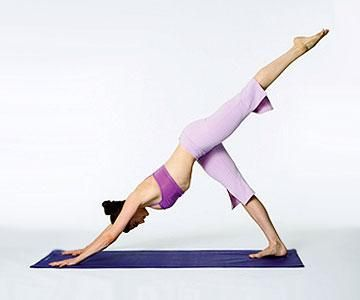 Try these yoga moves and workouts no matter what skill level you're at. These yoga poses will build your strength, help you gain more balance and increase your flexibility. Start your day off right with these fun yoga poses and workouts you can do at-home.